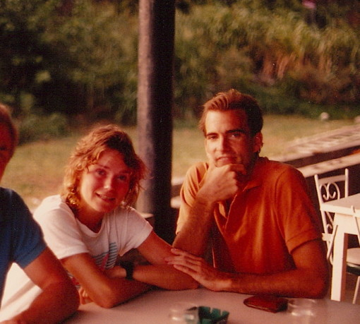 The Dude and I looking impossibly Young and Gorgeous, even before we got married