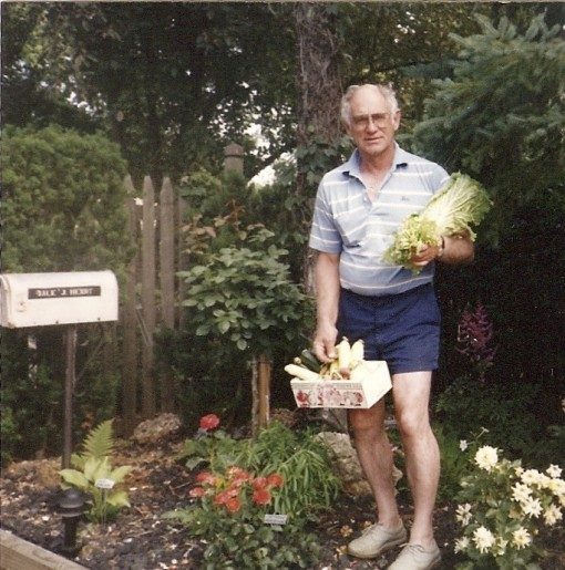 Why we didn't have a favorite farm stand: we had a favorite dad with a garden instead