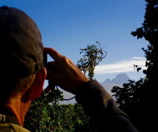 Wayne says bye-bye to Mt. Kenya
