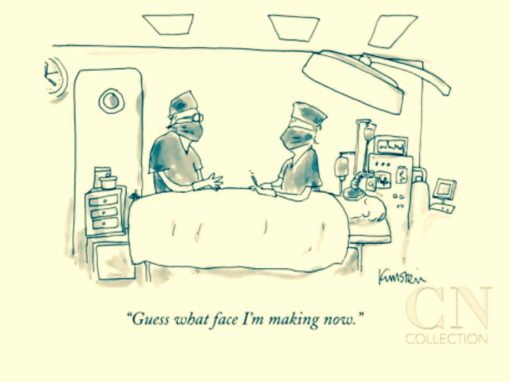 Remember when I told you that Ad Folks are the funniest people ever? This famous New Yorker Cartoonist used to work at Ogilvy. And I actually KNOW him!